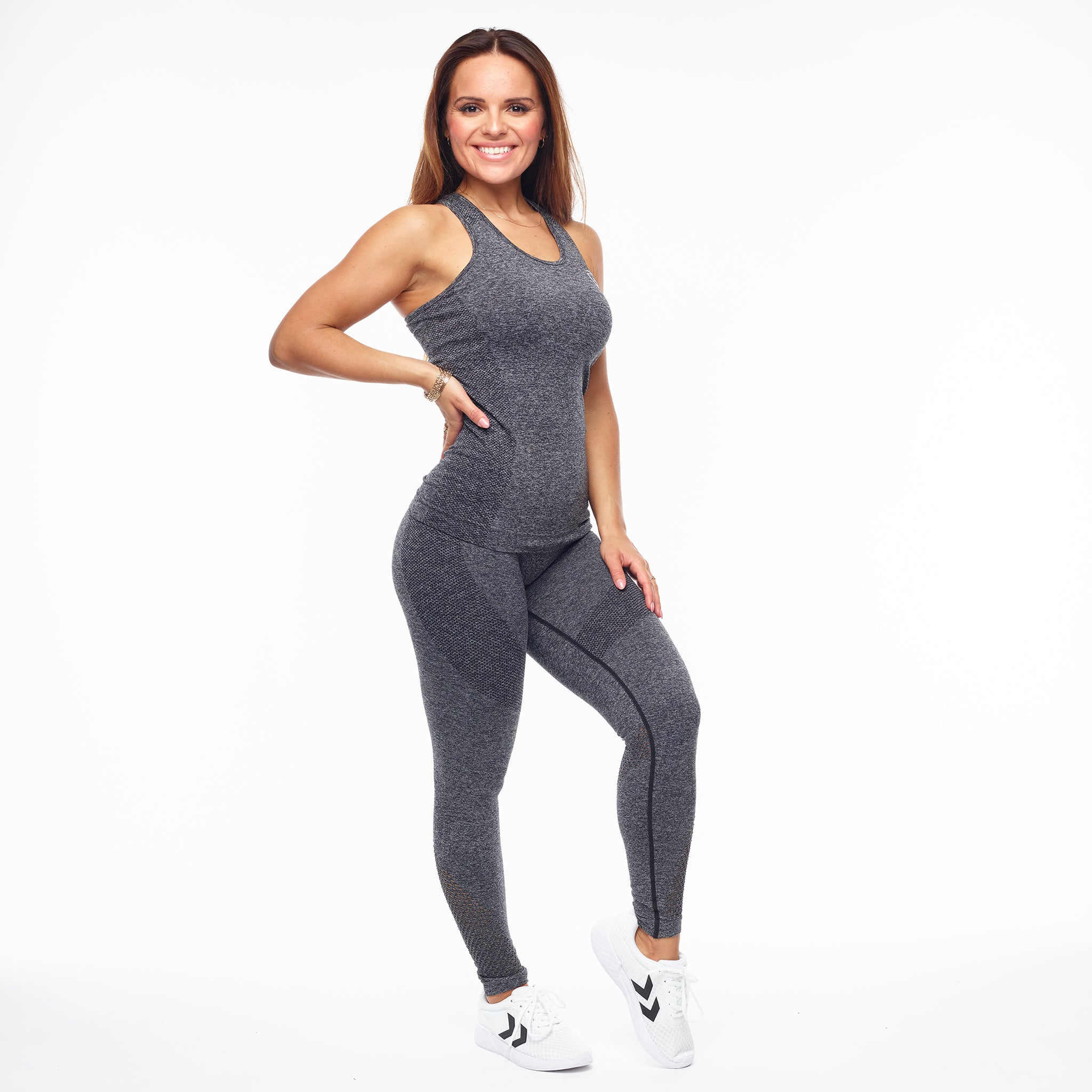 GYMONE – ACCEPT TIGHTS DARK GREY