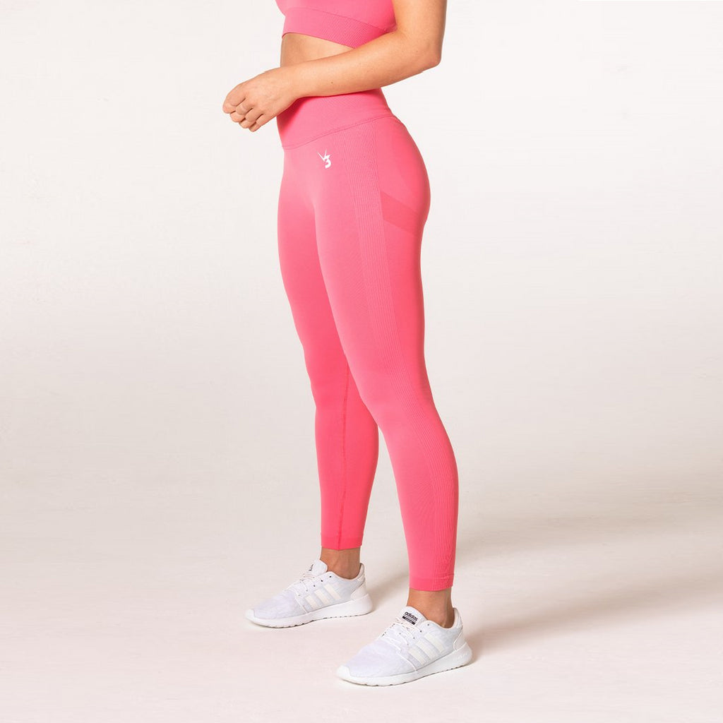 V3 APPAREL - DEFINE SEAMLESS TIGHTS CORAL