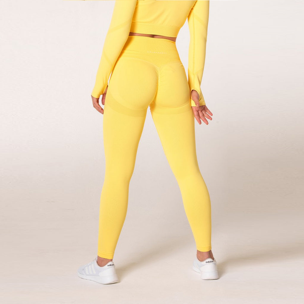 V3 APPAREL - DEFINE SEAMLESS TIGHTS LEMON