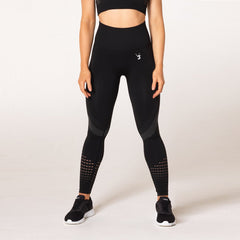 V3 APPAREL - ELEVATE SEAMLESS TIGHTS BLACK