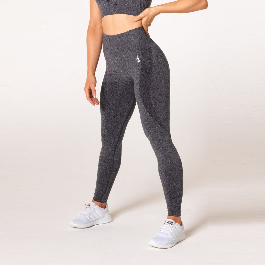 V3 APPAREL - UPLIFT SEAMLESS TIGHTS CHARCOAL