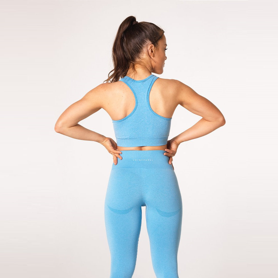 V3 APPAREL - UPLIFT SPORTS BRA SKY BLUE