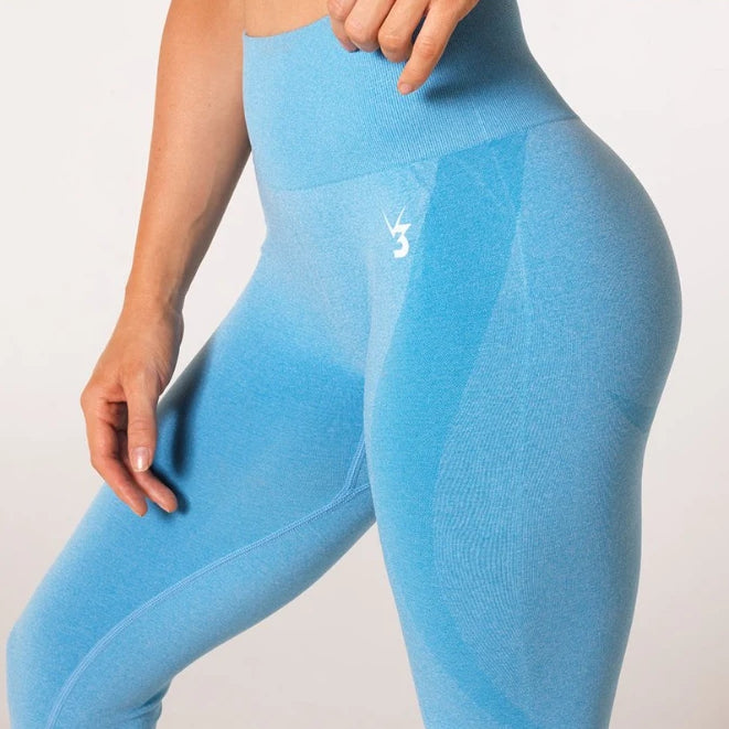 V3 APPAREL - UPLIFT SEAMLESS TIGHTS SKY BLUE