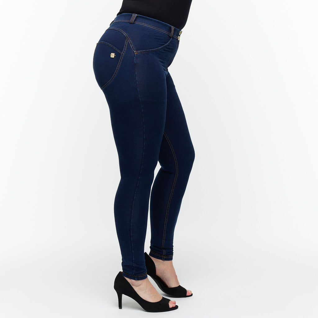 FREDDY WR.UP® CURVY - DENIM BLÅ