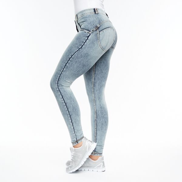 Image of   FREDDY WR.UP® REGULAR WAIST - DENIM SNOW GRÅ