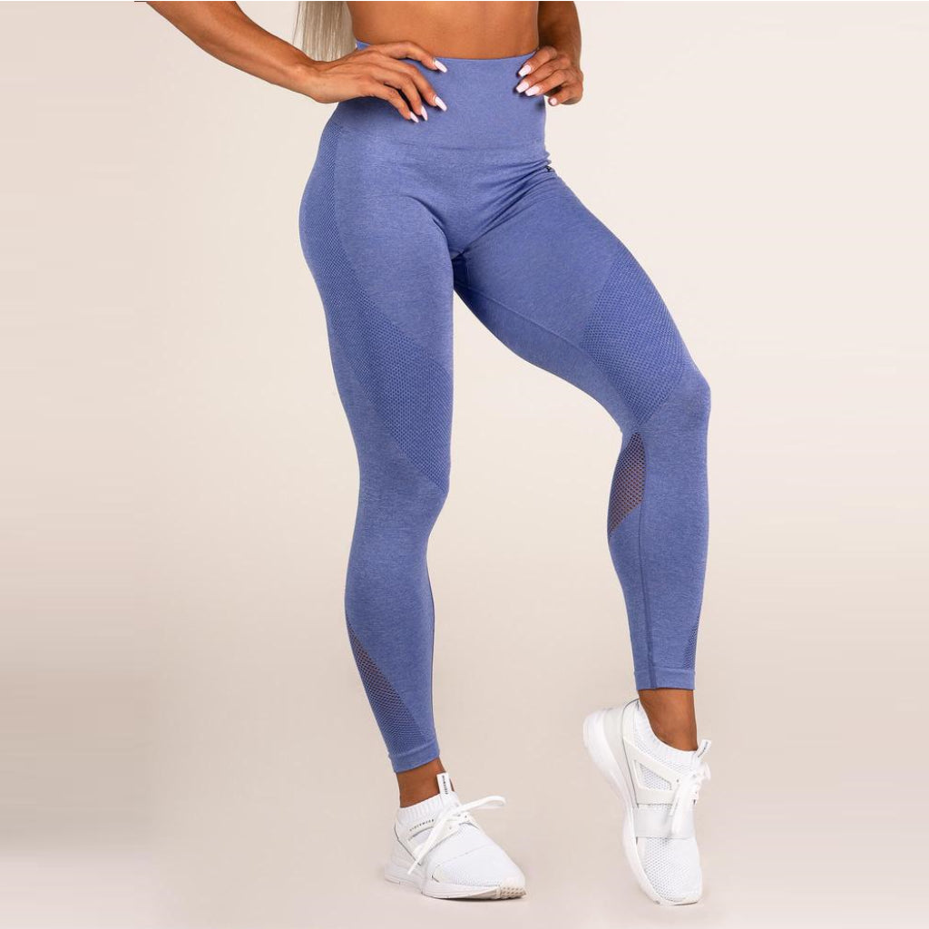 RYDERWEAR - SEAMLESS TIGHTS V.2 BLUE