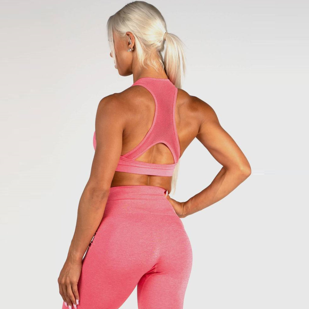 RYDERWEAR - SEAMLESS SPORTS BRA V.2 CORAL