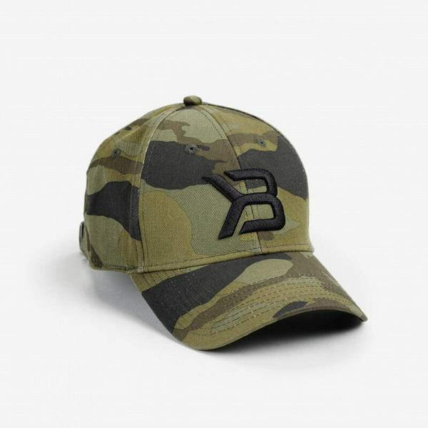 Image of   BETTER BODIES - BASEBALL CAP GREEN CAMO
