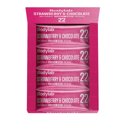 BODYLAB - STRAWBERRY & WHITE CHOCOLATE PROTEINBAR