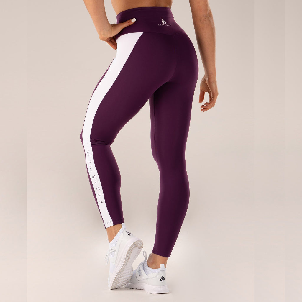 RYDERWEAR - QUEEN HIGH WAIST TIGHTS LILLA
