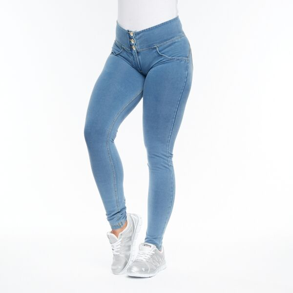 FREDDY WR.UP® MID WAIST - DENIM LYS