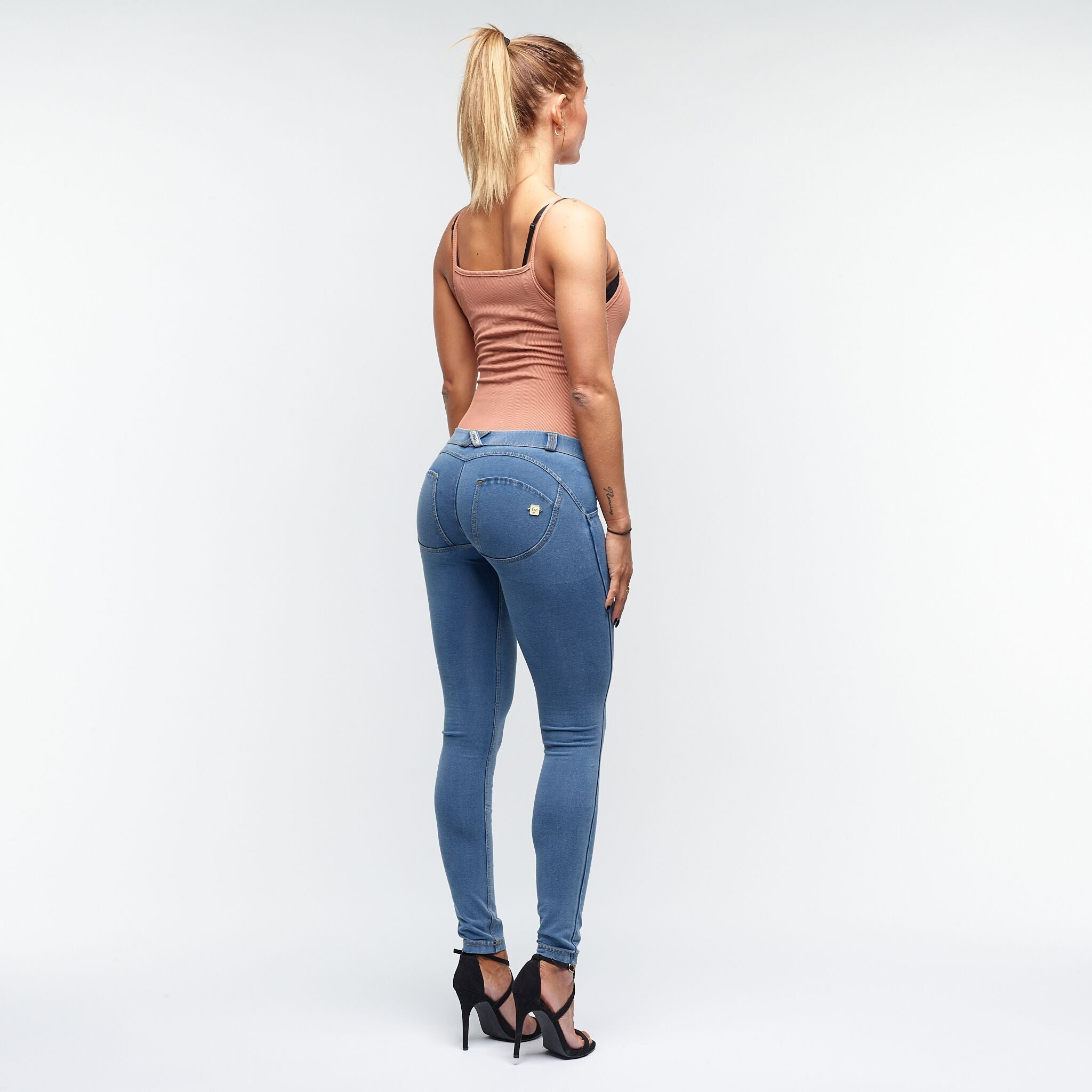 FREDDY WR.UP® LOW WAIST - DENIM LYS