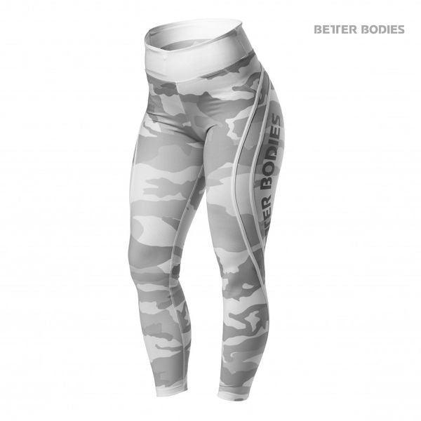 BETTER BODIES – WHITE CAMO HIGH TIGHTS