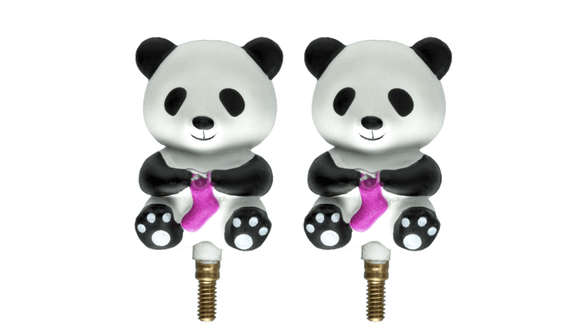 Hiya Hiya Panda Cable Stoppers - Small
