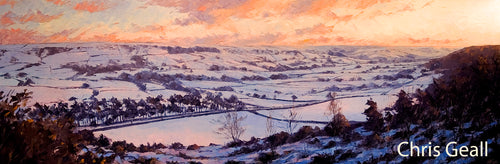 Esk Valley in the snow