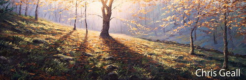 Autumn light, limited edition print