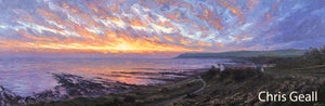 Fiery dawn, Robin Hood's Bay