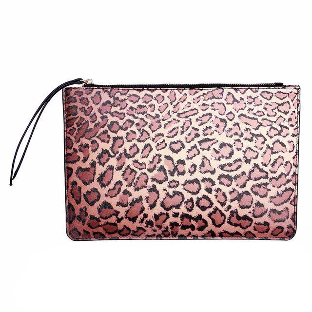 Big Leopard Clutch