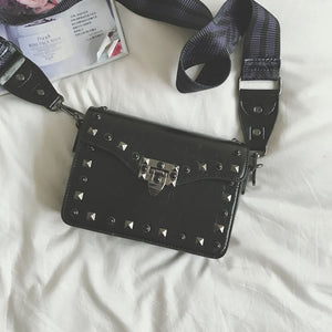 Studded Black Crossbody