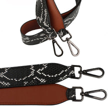 Brown Snakeskin Strap