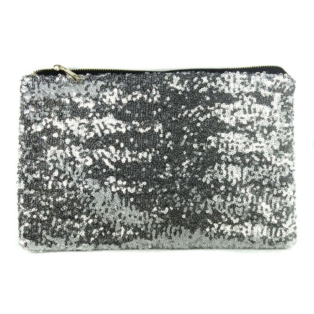 Silver Party Clutch
