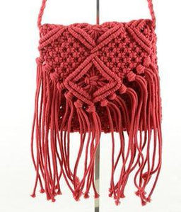 Fringed Festival Purse