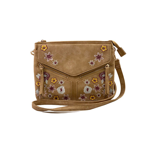 Perforated Medallion Crossbody