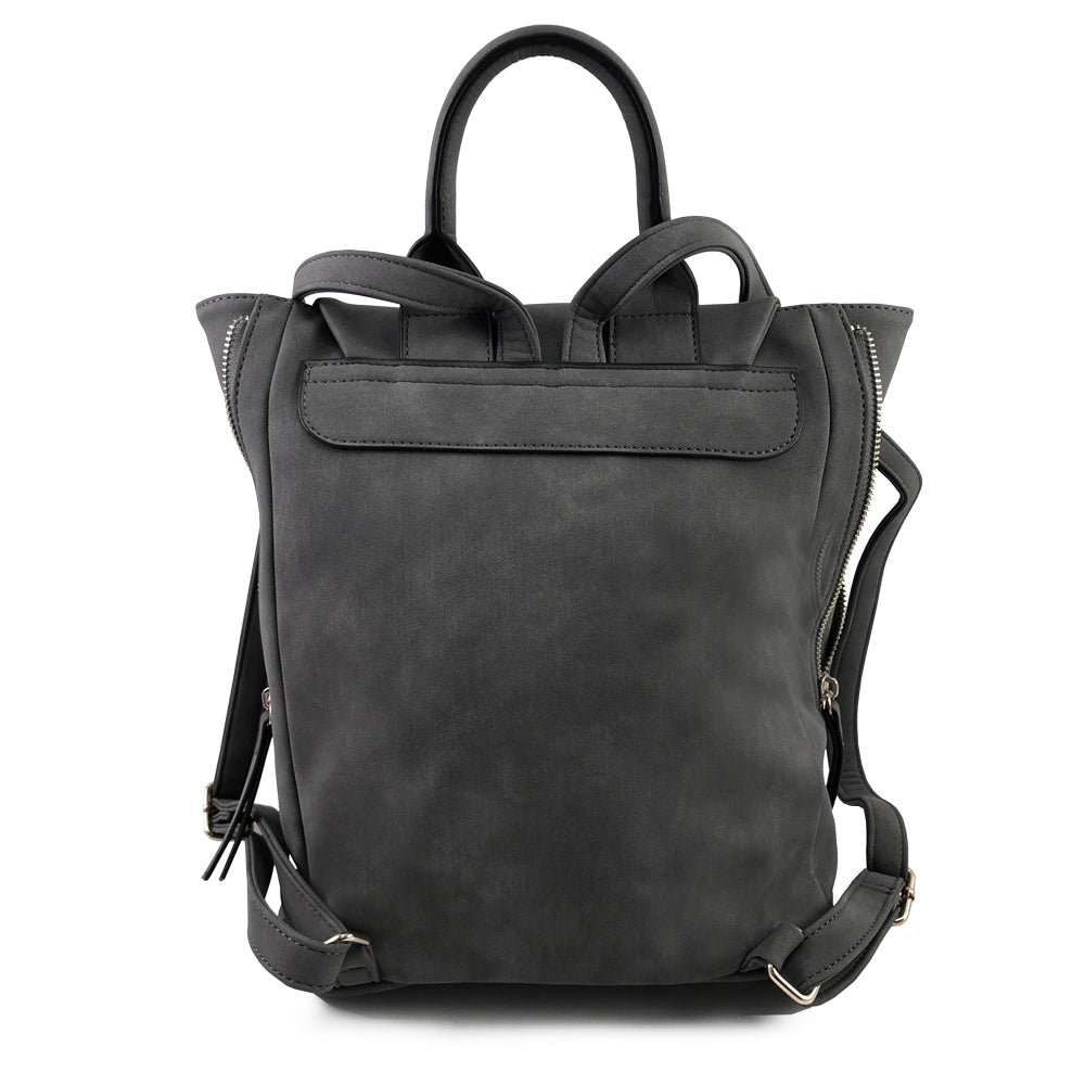 Grey Kendall Midi Backpack