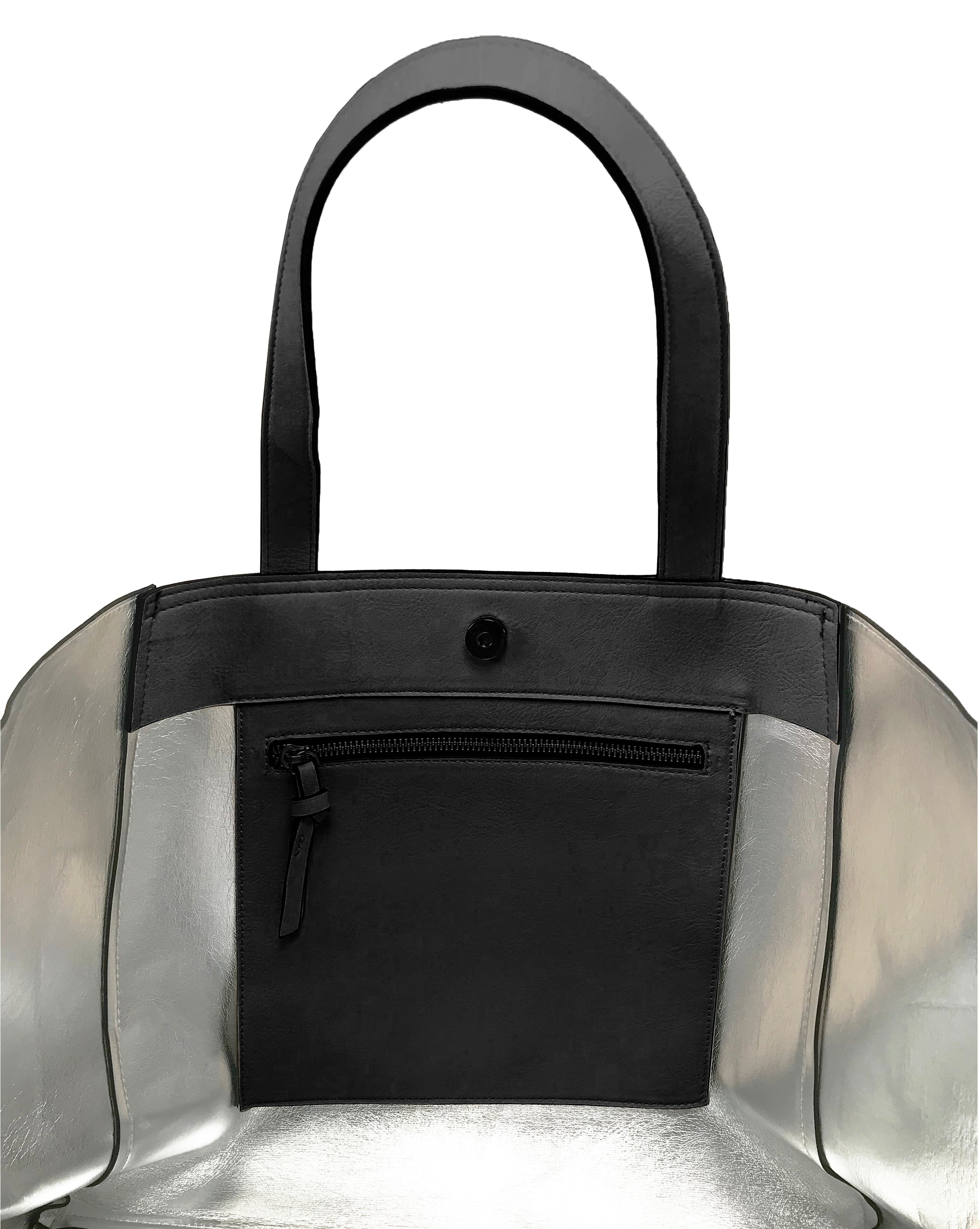 Black Winter Tote