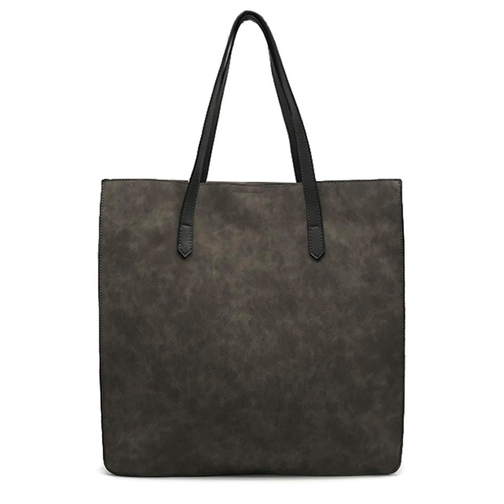 Tote with Front Pocket and Interior Organization