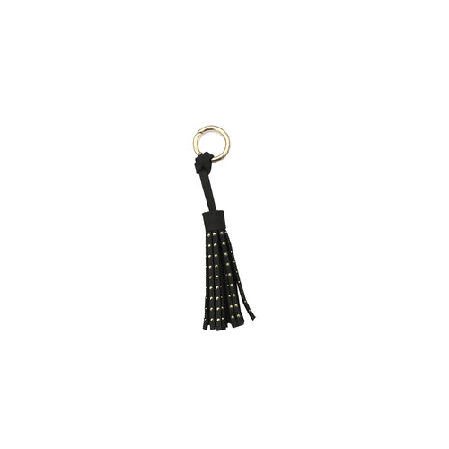 Studded Tassel Bag Charm