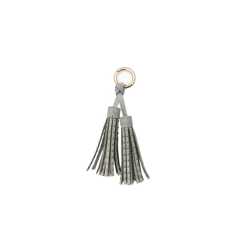 Cognac Single Metal Cap Tassel
