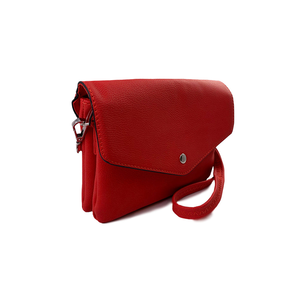 Envelope Flap with Center Stud Crossbody