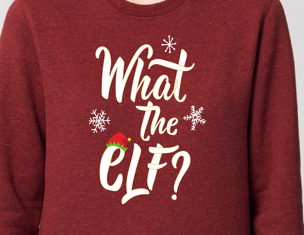 Kids Kersttrui 'What the Elf' - Les Canailles