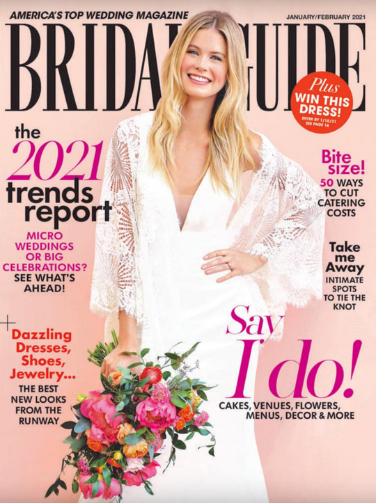 FEATURED IN BRIDAL US MAGAZINE