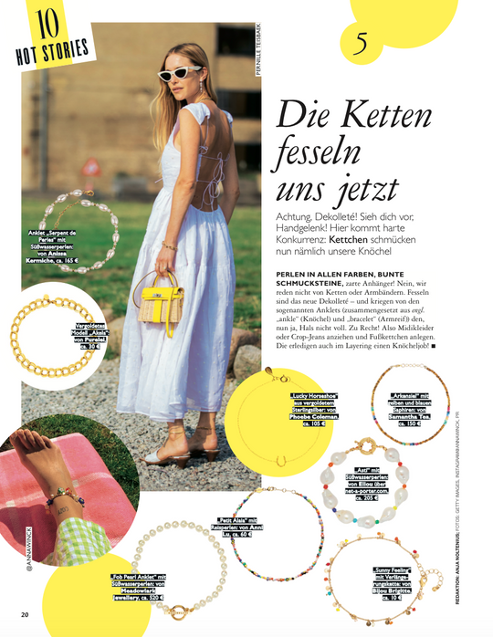 FEATURED IN GRAZIA GERMANY