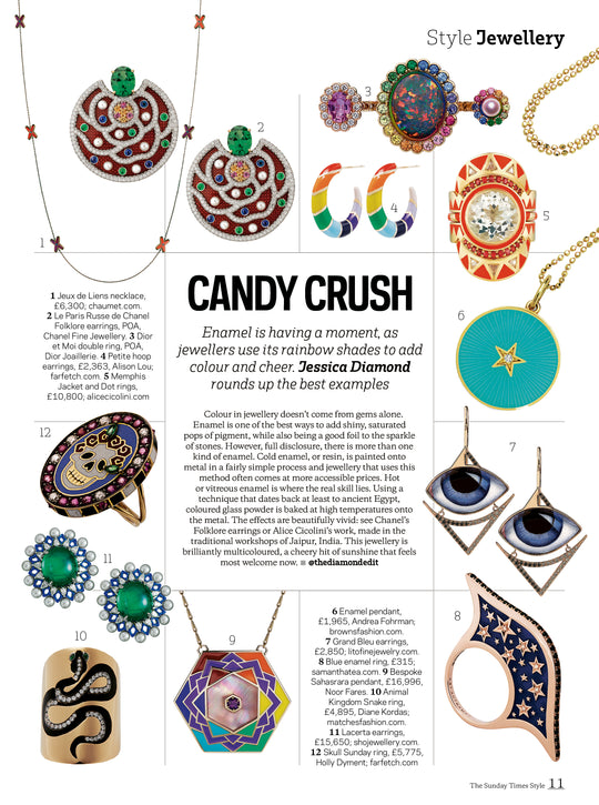 FEATURED IN SUNDAY TIMES STYLE