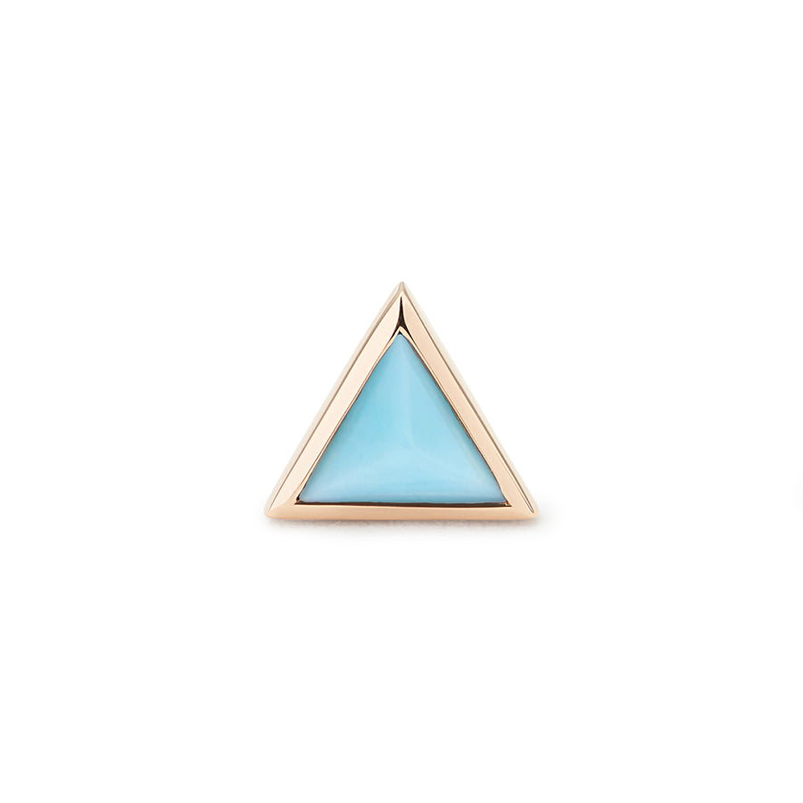PYRAMIDE OF MAGIC STUD TURQUOISE