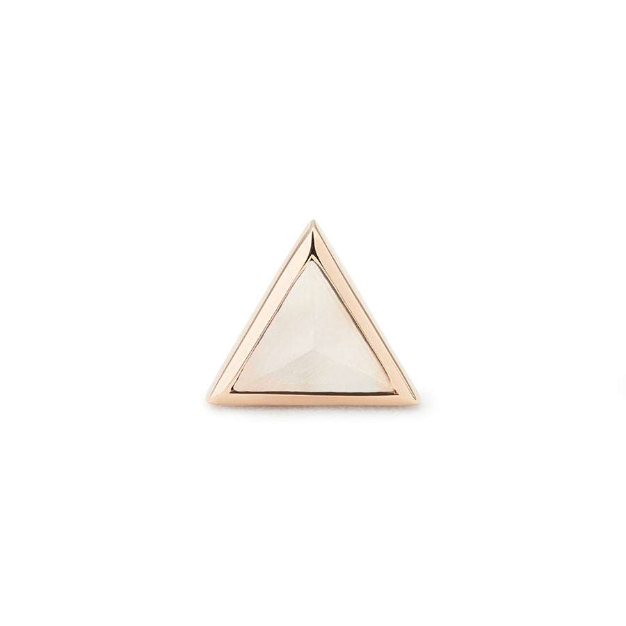PYRAMIDE OF MAGIC STUD MOONSTONE