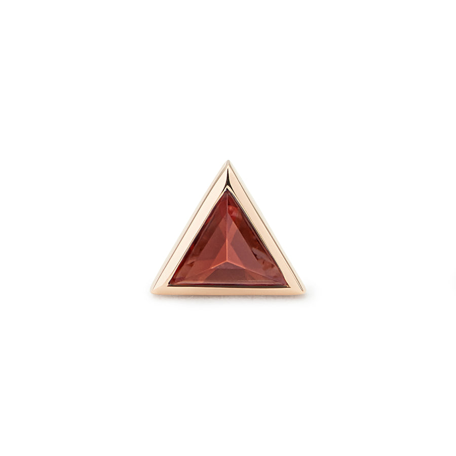 PYRAMIDE OF MAGIC STUD RED GARNET