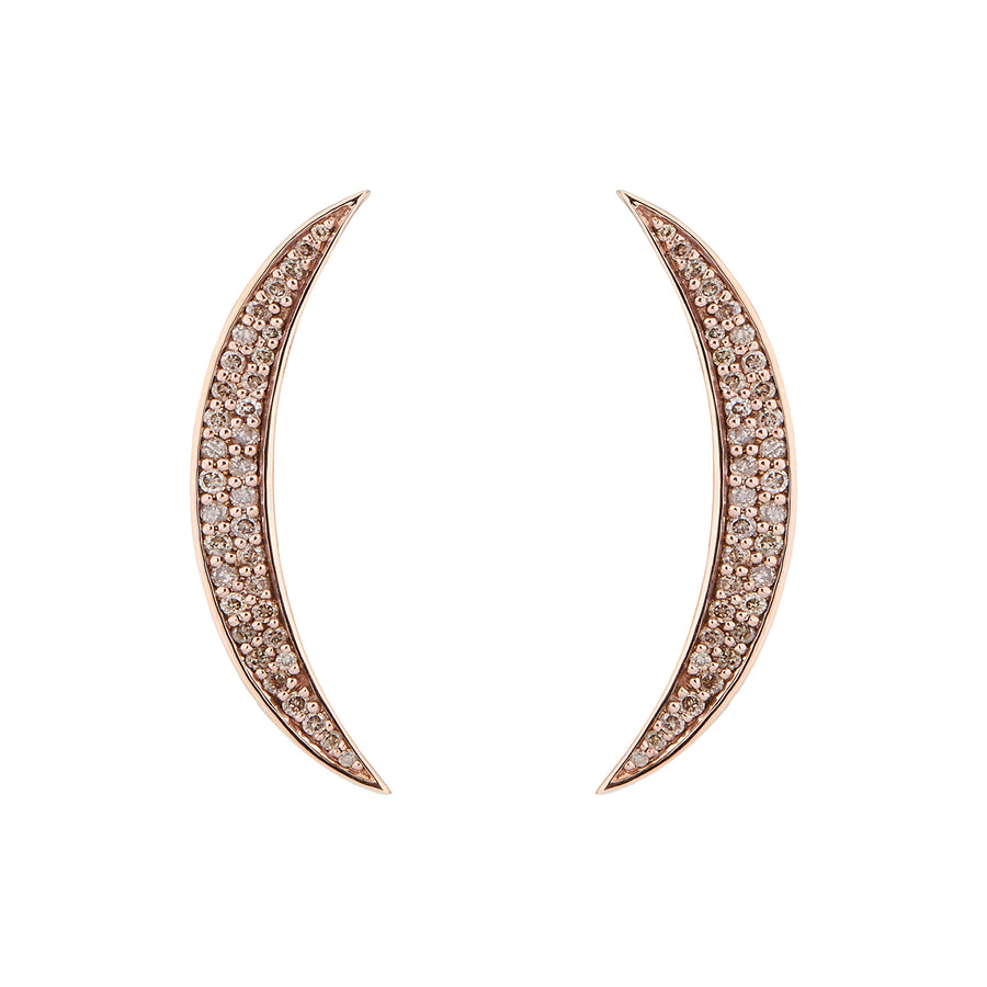 SASHA EARRINGS CHAMPAGNE DIAMONDS