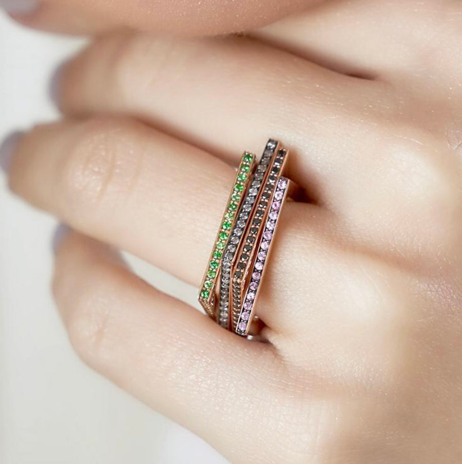 EVE RING PINK SAPPHIRES