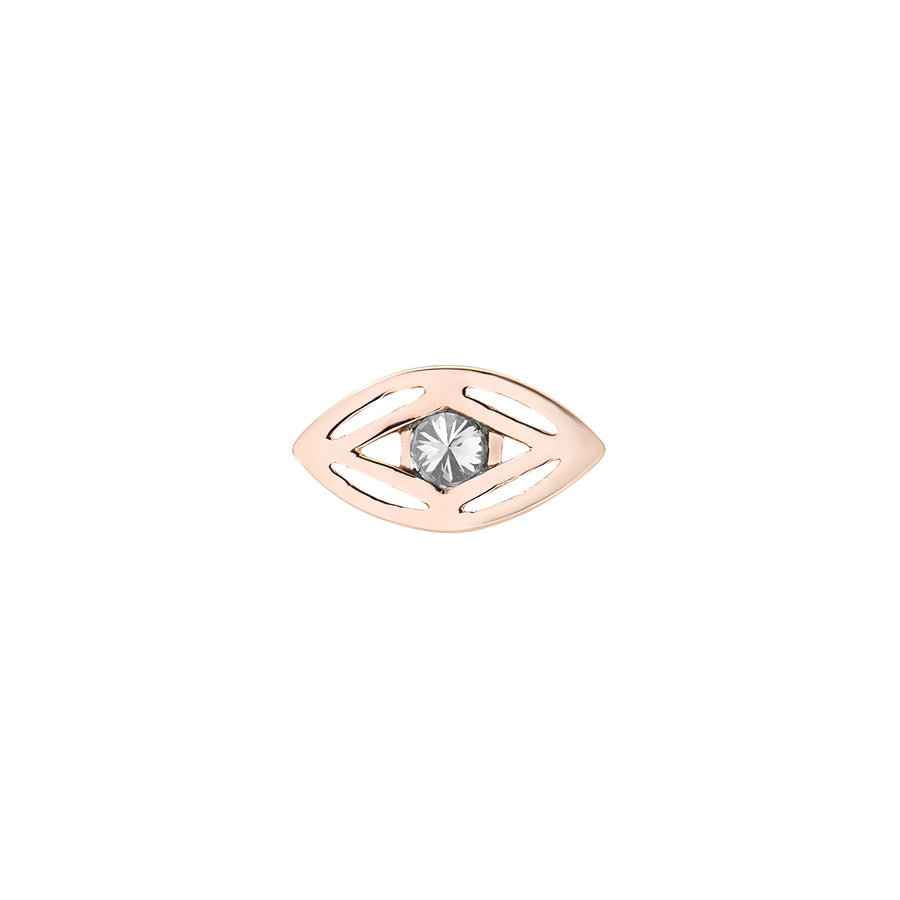 EYE OF MAGIC STUD GREY DIAMOND