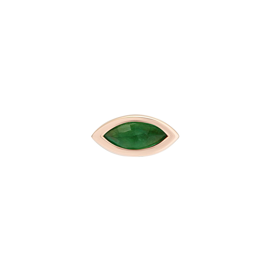 EYE SEE YOU STUD EMERALD