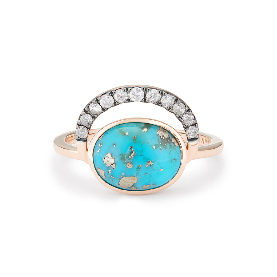 LALUNA RING PERSIAN TURQUOISE