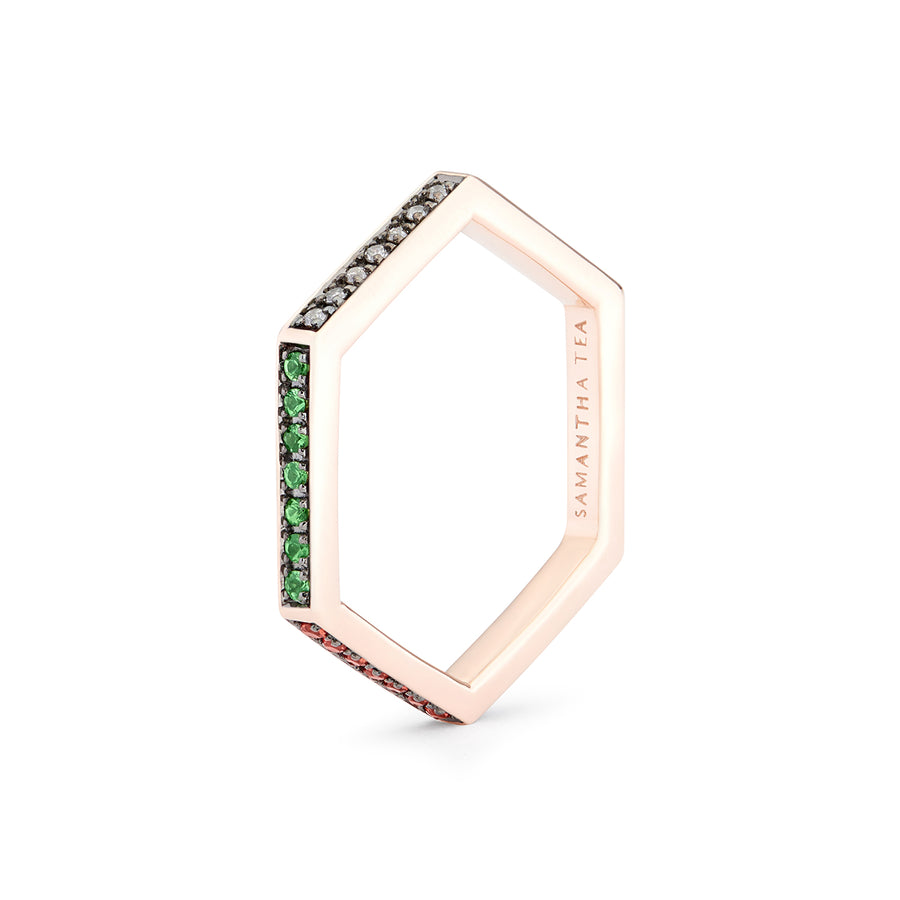 NAILA RING MULTICOLOURS