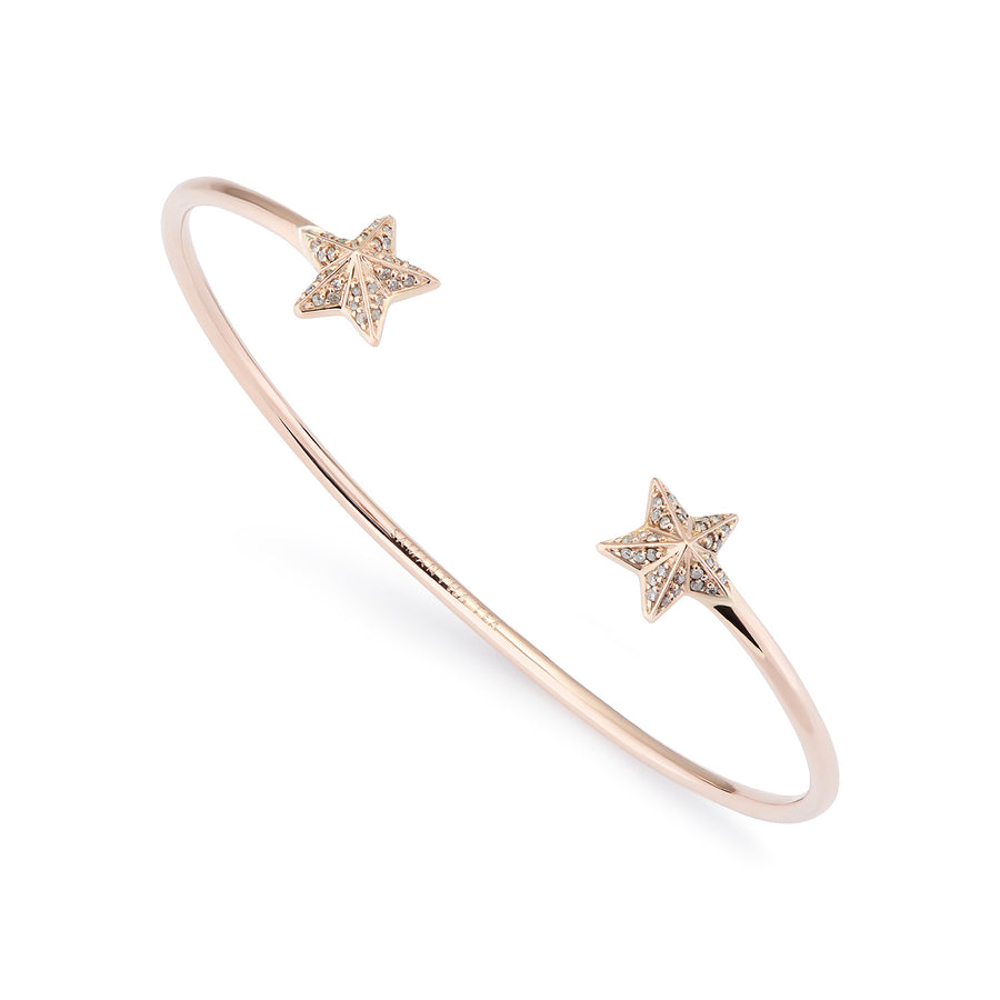 NIMA STAR BRACELET GREY DIAMONDS