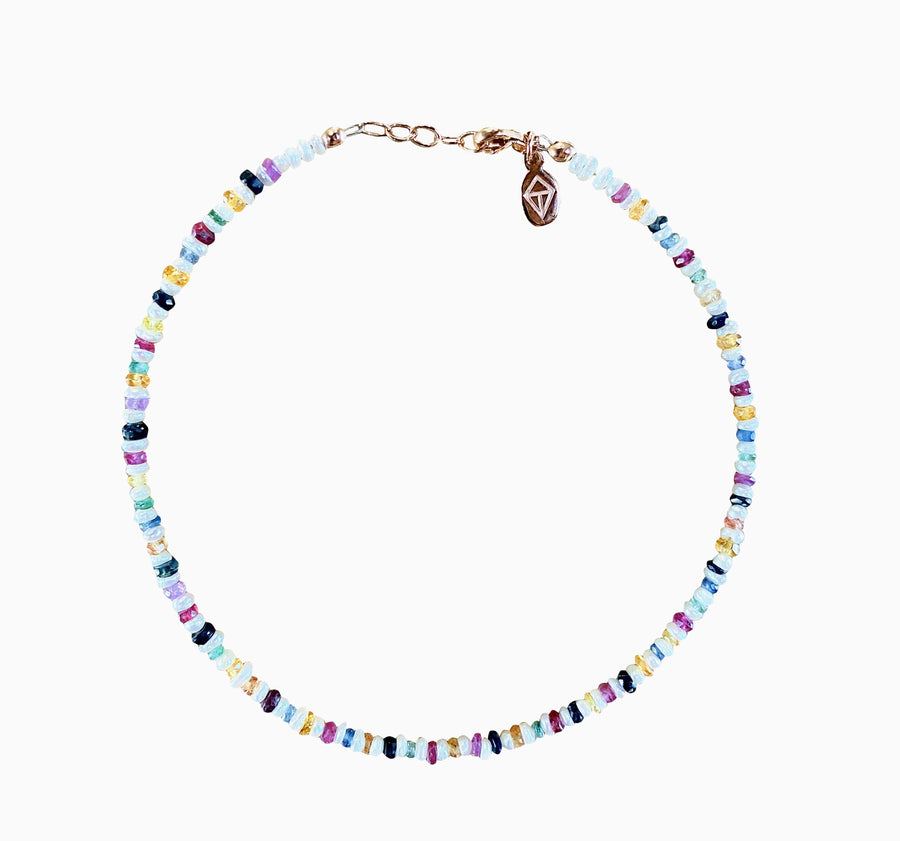 WISH A RAINBOW ANKLET