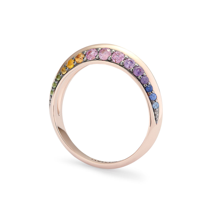 NOVA RING RAINBOW SAPPHIRES