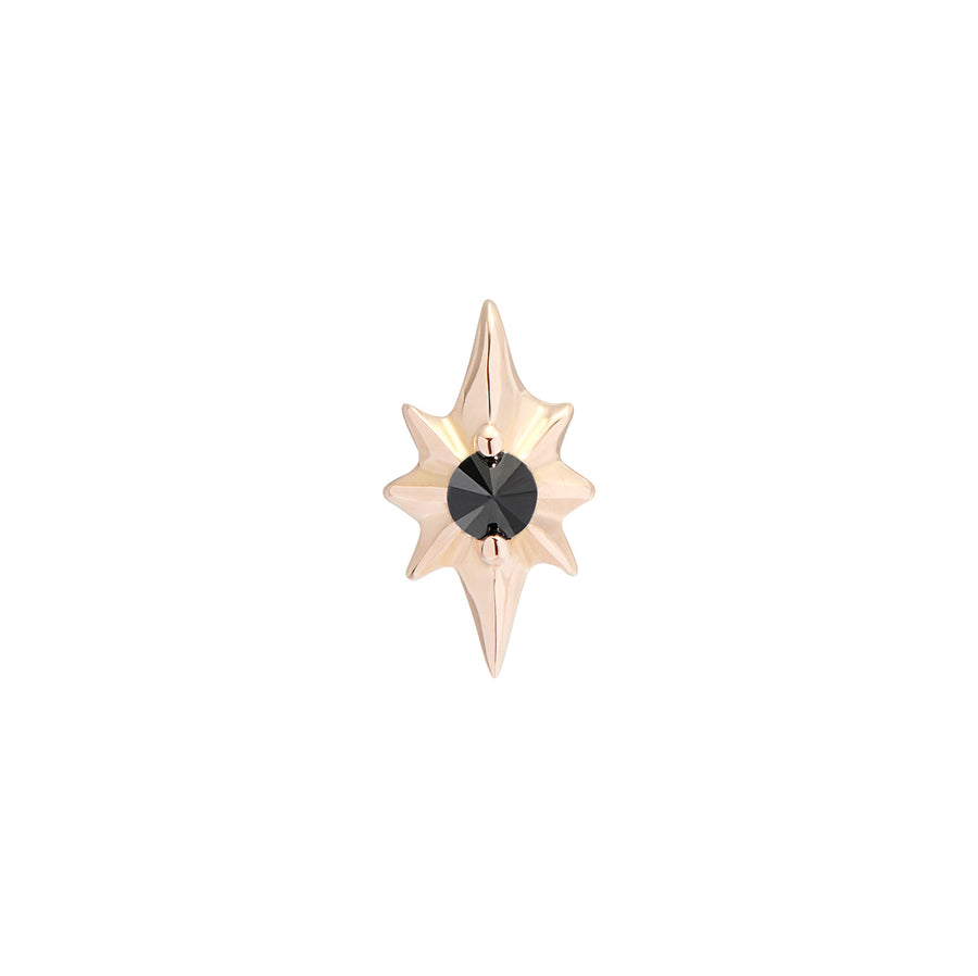 CAPELLA STUD BLACK DIAMOND